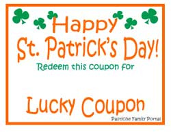 Pats coupon code