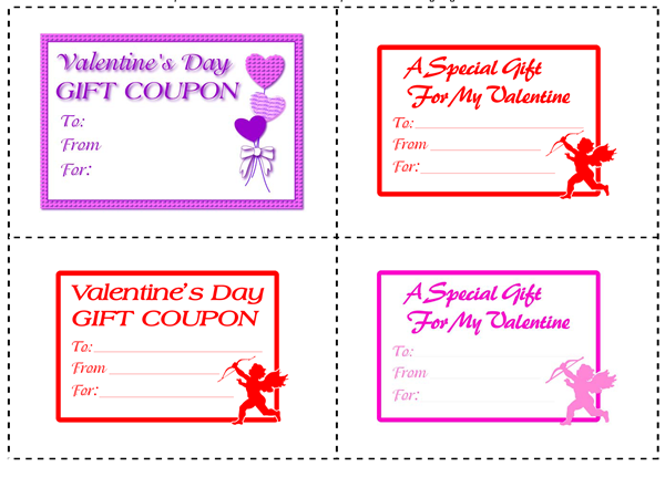 Printable Gift Coupons and IOUx – Fun Voucher Template
