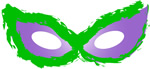 printable masquerade cat eye mask