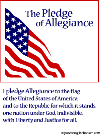 photograph relating to Pledge of Allegiance Printable named Printable Pledge of Allegiance Flag Posters