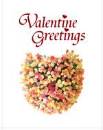 free print valentine card