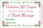valentine coupons or love coupon iou printables