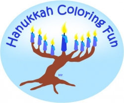 chanukah coloring printables
