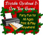 Printable Christmas party games shop now