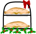 Christmas Pies clip art