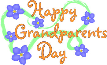 Grandparents Day Clip Art Banner