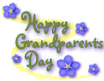 Happy Grandparents Day printable greeting card