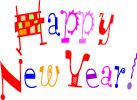 New Year clip art - free printable New Year graphics