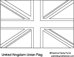 photo about Printable Flags to Color referred to as Printable British isles Flag, Union Jack Flag