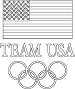 usa olympics coloring page
