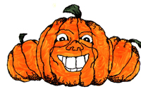 Halloween pumpkins print games now for your party