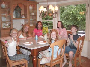 tweens and teens - family gathering
